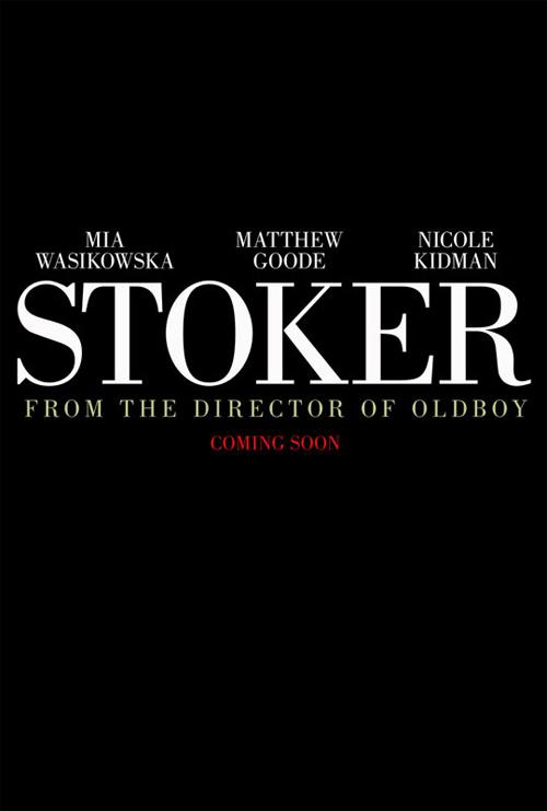 Cartel promo de Stoker