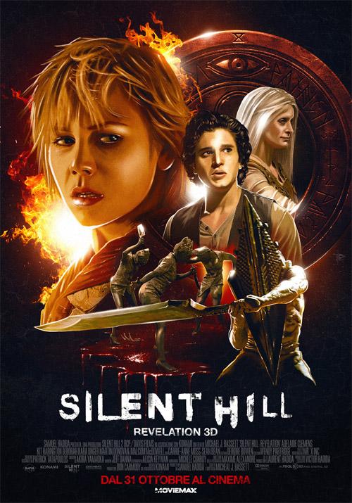 Francamente chulo cartel de Silent Hill: Revelation 3D