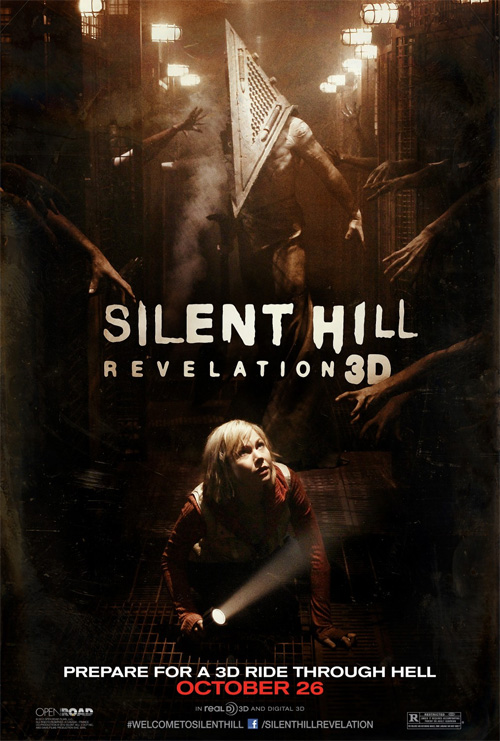 Nuevo cartel de Silent Hill: Revelation 3D