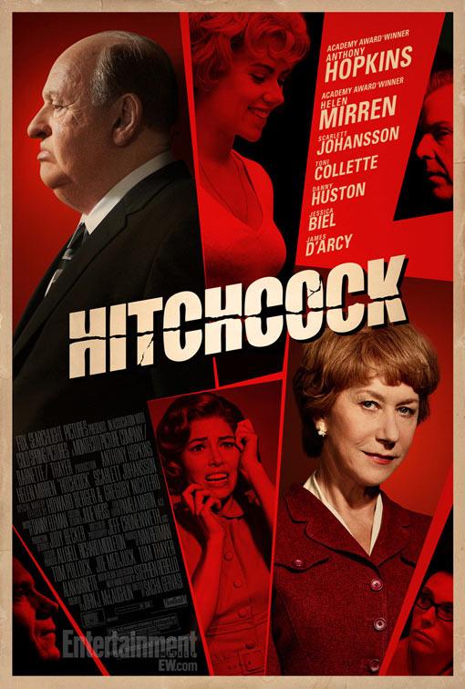 Otro hitchcockiano cartel del biopic Hitchcock