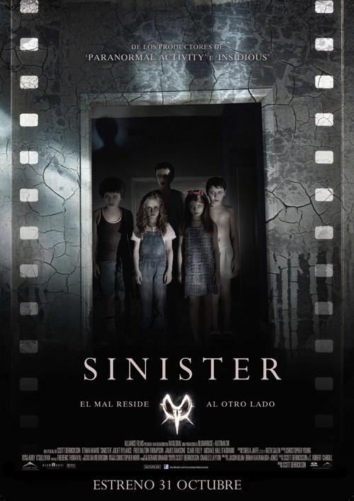 Cartel español de Sinister
