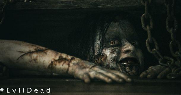Esa primera imagen de Evil Dead