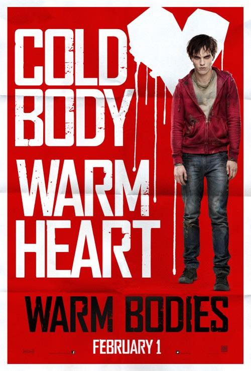 Cartel de Warm Bodies, esa cosa extraña, rara, grotesca y ¿excesivamente previsible?