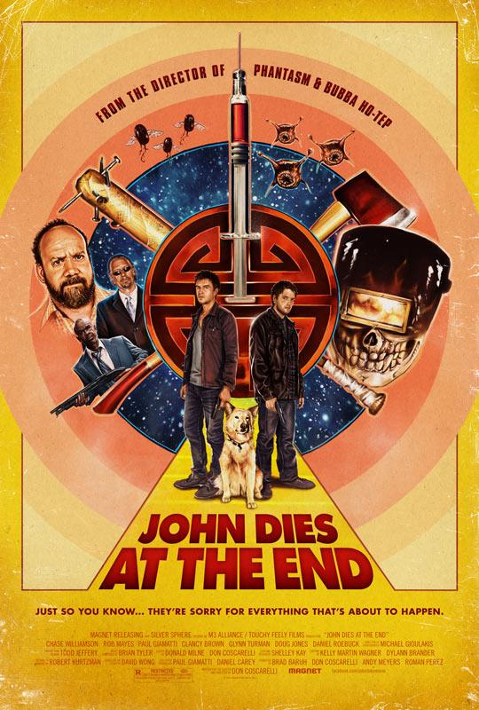 Uno de los carteles de John Dies at the End