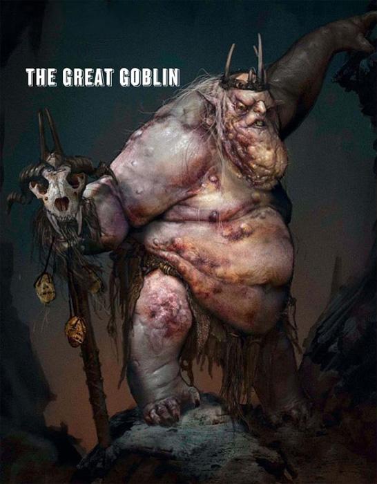 Impresionante concept art del Rey Goblin