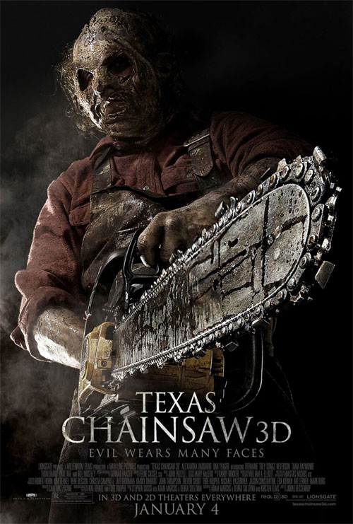 Nuevo cartel de Texas Chainsaw 3D