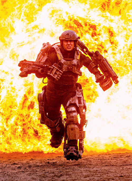 La primera imagen de All You Need is Kill con Tom Cruise y un exoesqueleto mastodóntico