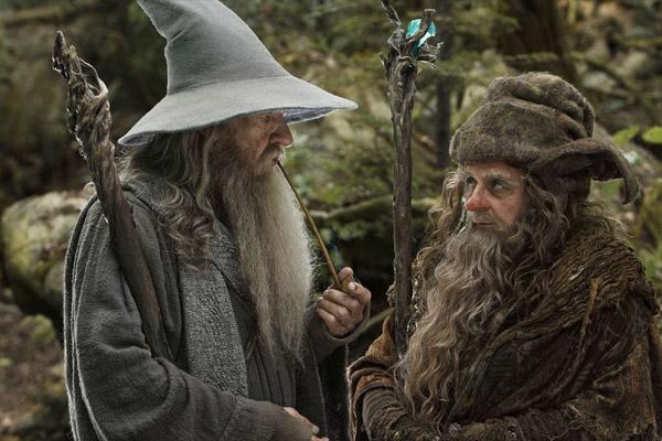 Un encuentro entre Gandalf y Radagast