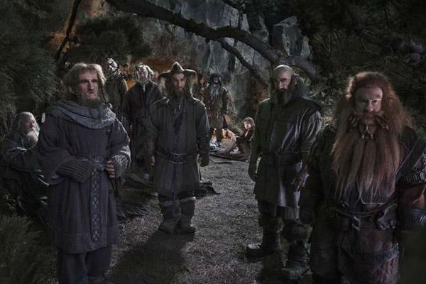 Los enanos en el bosque... ¿a quién o qué miran?
