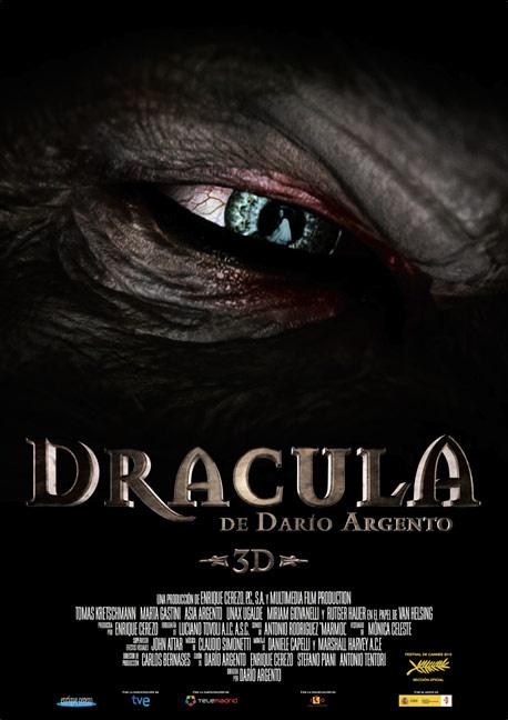 Cartel de esa cosa llamada Dracula 3D