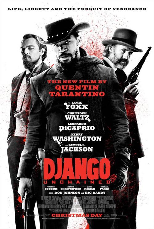 Nuevo póster de Django desencadenado