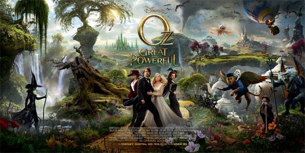 Banner cartel de Oz, un mundo de fantasía