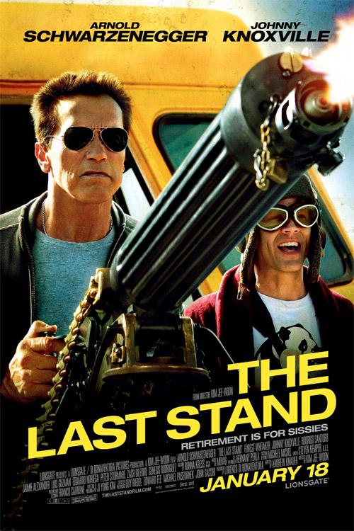 Nuevo cartel de The Last Stand