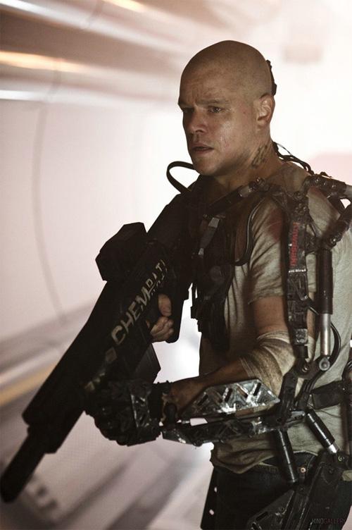 Una nueva imagen de Elysium y una nueva ración de Matt Damon