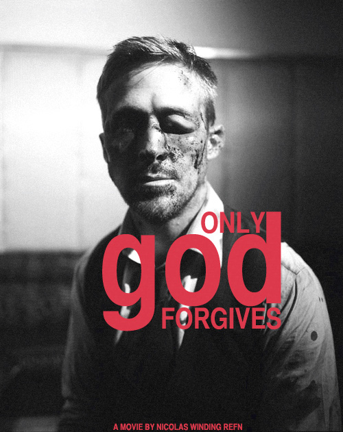 Promo póster de Only God Forgives de Nicolas Winding Refn