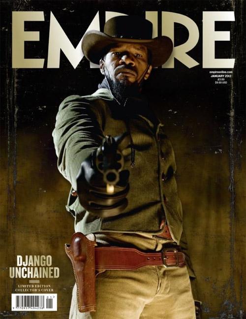 Portada del nuevo número de la Empire Magazine de este mes... Django protagonista