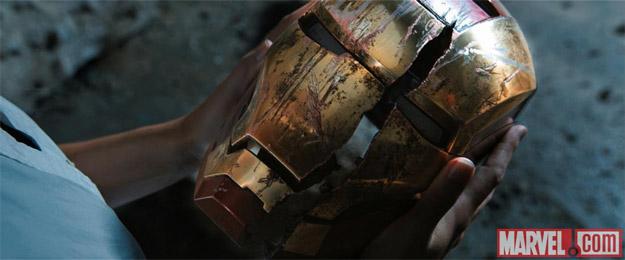 No me quiero imaginar quién ha podido dejar así la armadura de Iron Man