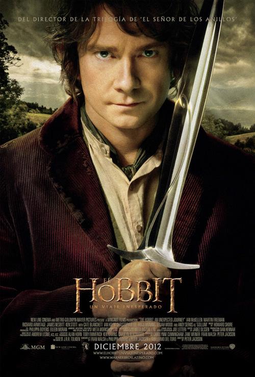 Póster español de El Hobbit: Un Viaje Inesperado