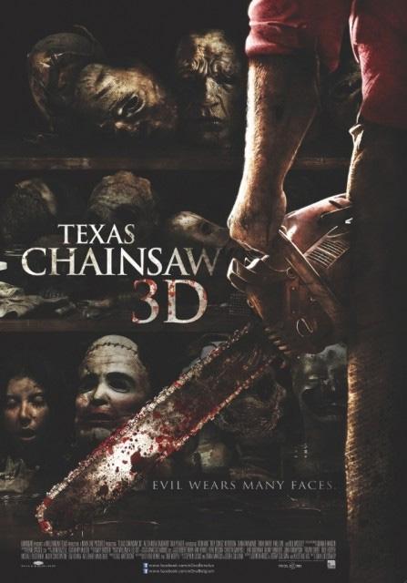 Un nuevo cartel de La matanza de Texas 3D