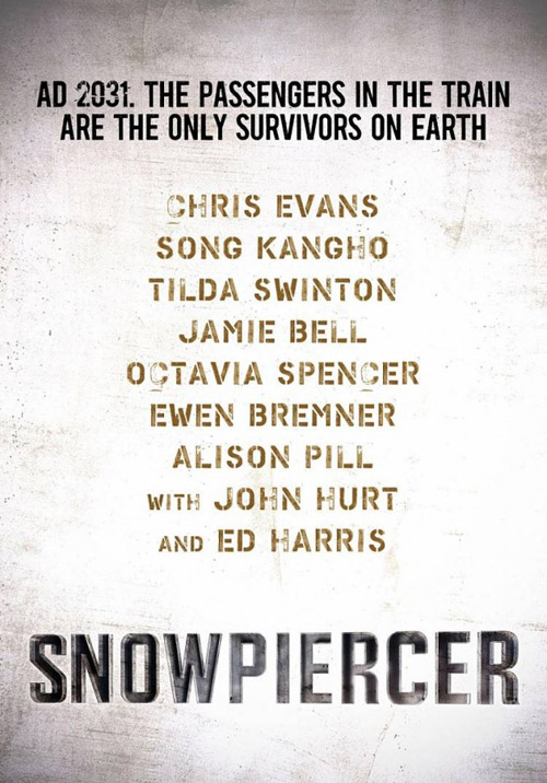 Primer cartel de Snowpiercer