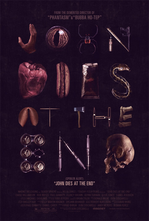 Nuevo cartel molón de la lisérgica John Dies at the End de Don Coscarelli