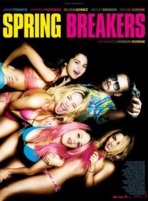 Primer cartel de Spring Breakers, otra de esas que sorprendieron en Sitges 2012