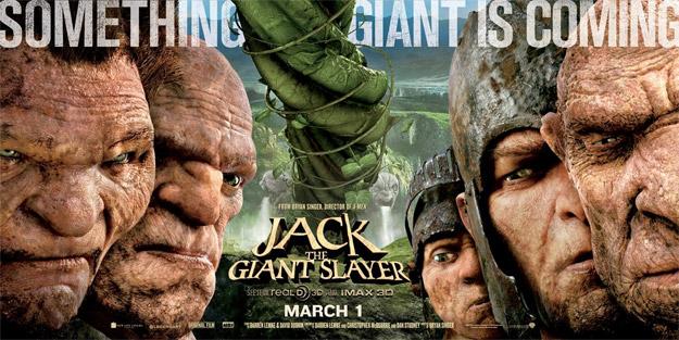 Otro cartel más de Jack the Giant Slayer, ahora con todos los gigantes juntos (y revueltos)