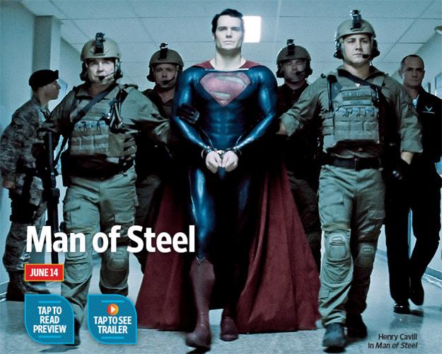 El traje nuevo el emperador... digo de Superman