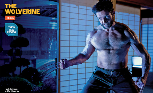 Hugh Jackman en el Japón pon pon