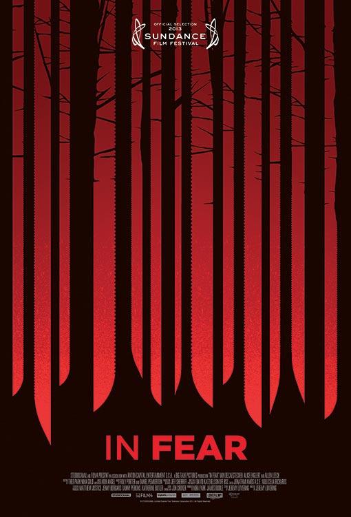 Primer cartel de In Fear, film de terror que se verá en Sundance