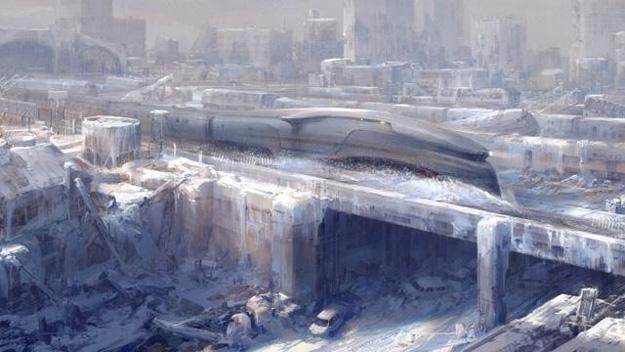 Concept art de Snowpiercer