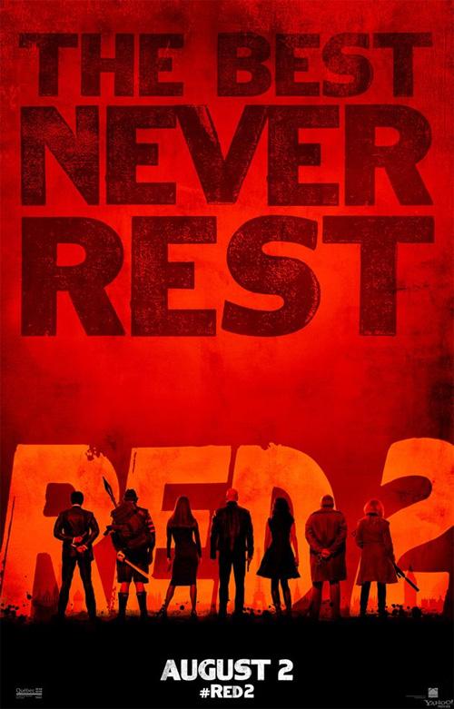 Un nuevo simpático cartel de RED 2