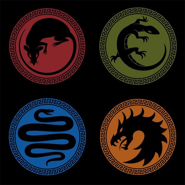 Las principales Escuadras de El juego de Ender