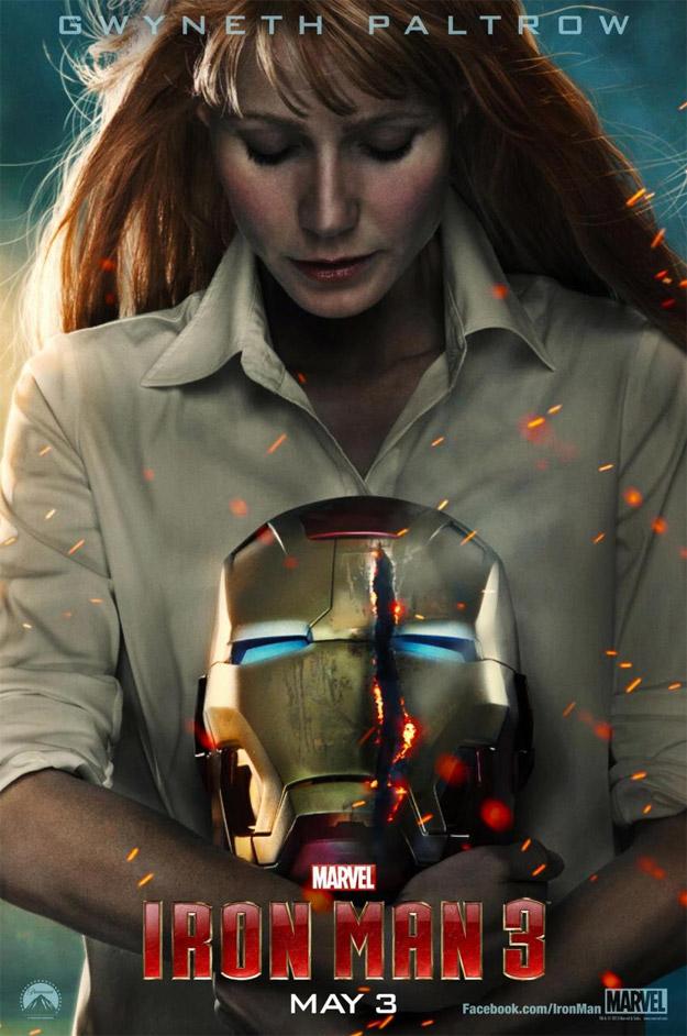 Nuevo cartel de Iron Man 3