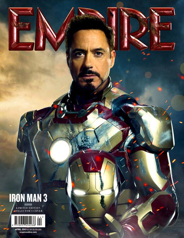 La portada de Empire con Tony Stark como protagonista