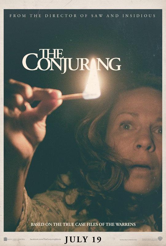 Clasicismo, eso supura este también primer cartel de The Conjuring