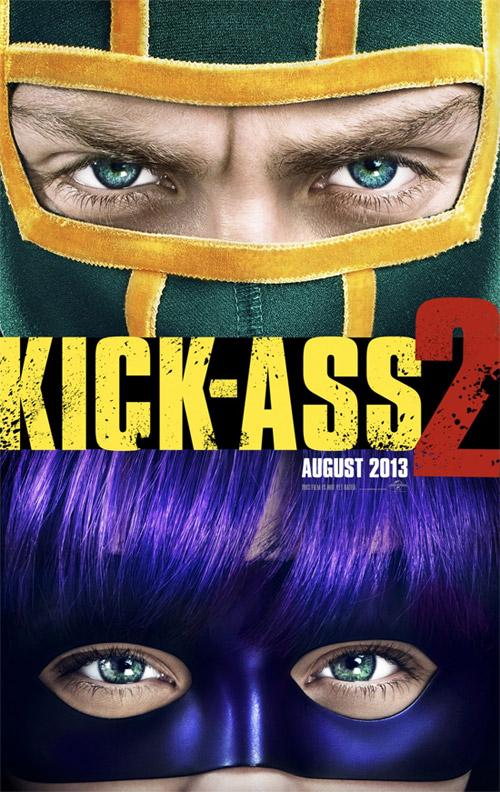 El primer cartel de Kick-Ass 2: Balls to the Wall