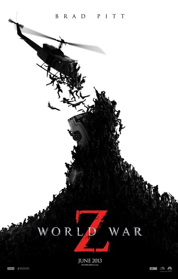 El nuevo cartel de Guerra Mundial Z, que acompañará al trailer filtrado