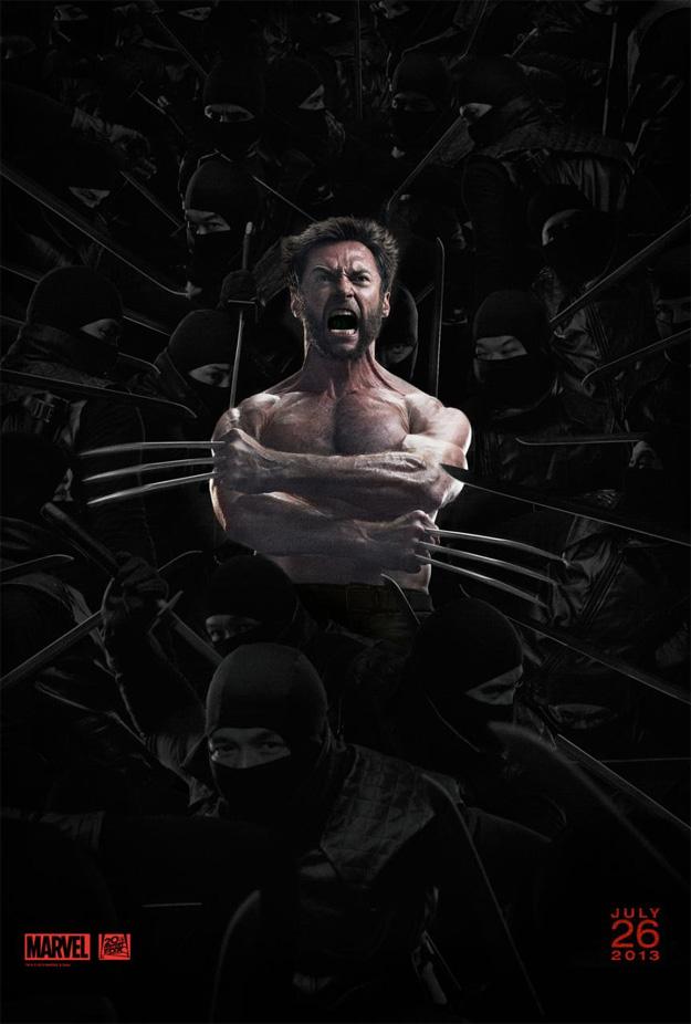 El nuevo cartel de Lobezno: inmortal, me sangran los ojos al leer esto, ve la luz