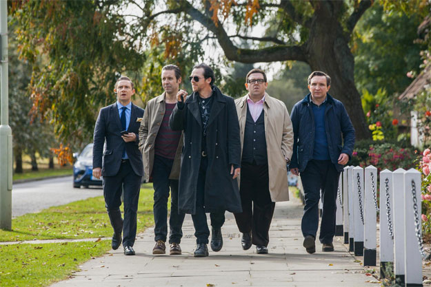 Toda la pandilla de The World's End de Edgar Wright