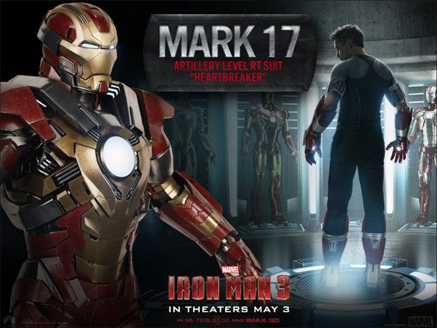 Otra de las armaduras que veremos en Iron Man 3... la Mark 17