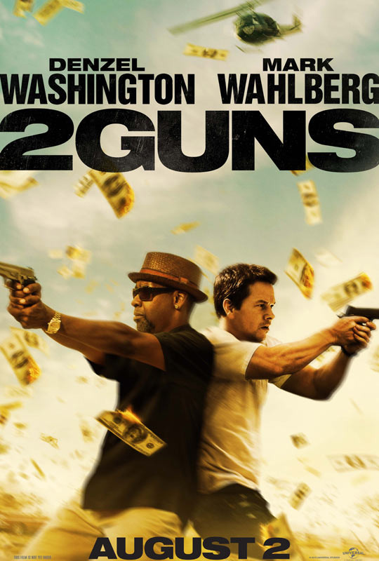 El primer cartel de 2 Guns