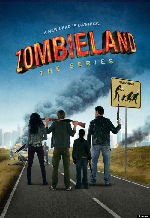 """El cartel de la serie de """"Zombieland"""" de Amazon Studios... no me gusta nada"""