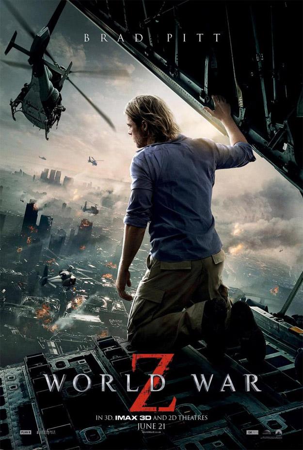 Uno de los carteles de Guerra Mundial Z