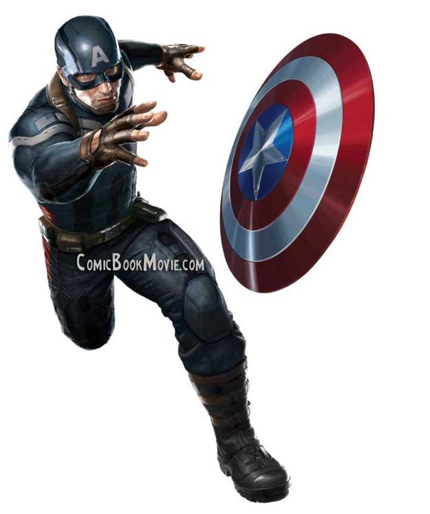 El nuevo traje del nuevo Capitán América