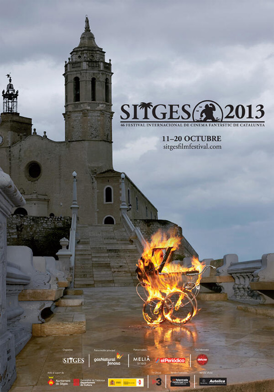 Cartel de la 46 edición del Sitges - Festival Internacional de Cinema Fantástic de Catalunya