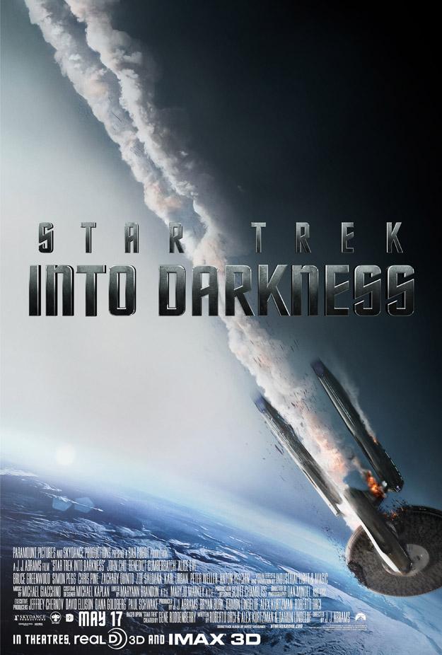 Otro cartel más de Star Trek: en la oscuridad