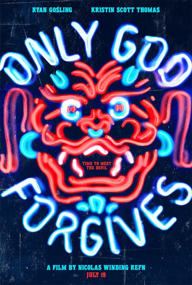 Cartel molón de Sólo dios perdona