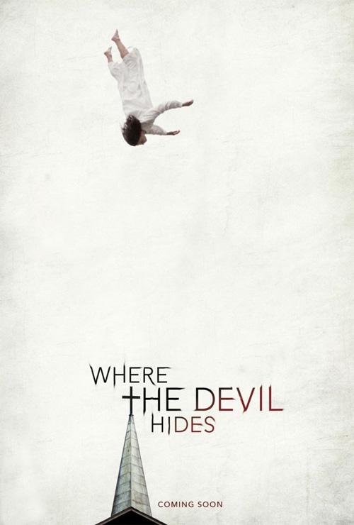 Primer cartel del film de terror Where The Devil Hides