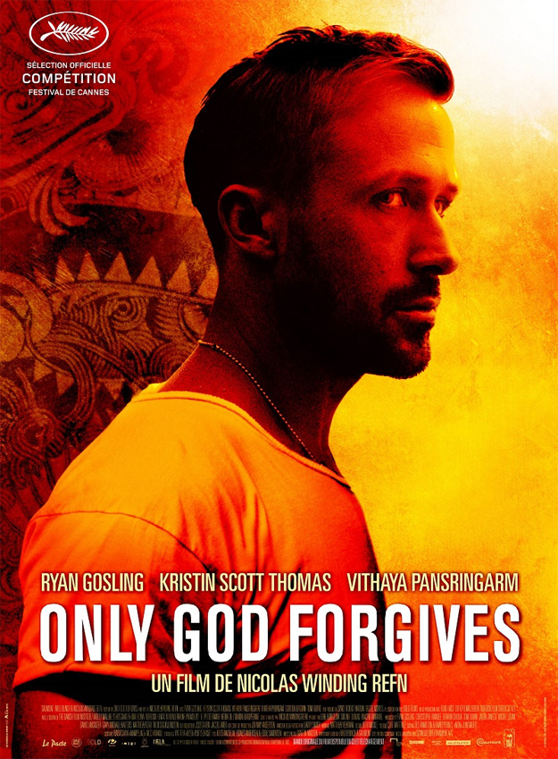 El cartel para el Festival De Cannes de Only God Forgives